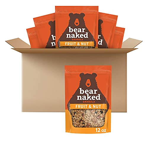Bear Naked, Granola, Fruit and Nut, Vegetarian and Kosher, 4.5lb Case (6 Count)