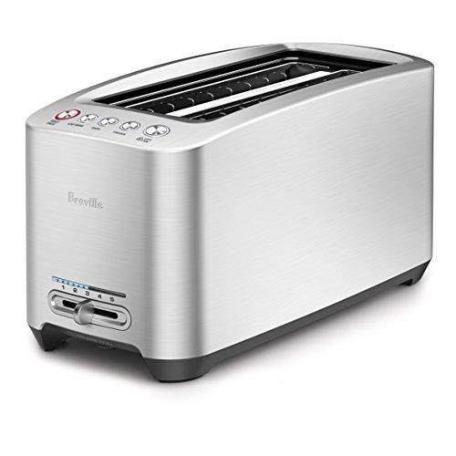 Breville BTA830XL Die-Cast 4-Slice Long Slot Smart Toaster (Renewed)
