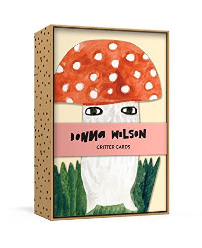 Donna Wilson Critter Cards: 12 Die-Cut All-Occasion Blank Boxed Notecards and Envelopes with Sticker Sheet (Donna Wilson's Critters)