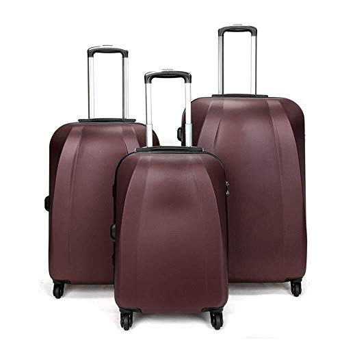 Review Of LFSP Luggage Wheels Hardside Suitcase Fashion Hard Luggage Trolley Suitcase Three Sets, 20...