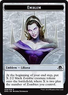 Magic: The Gathering - Emblem - Liliana, The Last Hope - Eldritch Moon