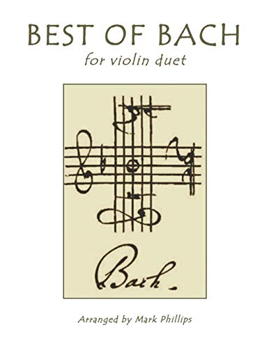 Best of Bach for Violin Duet