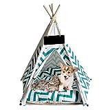 ANPI tragbares Falt-Haustier-Zelt, wasserdicht Hunde Katzen kleine Tiere Bett Haus für Indoor-Outdoor-Reisen Camping