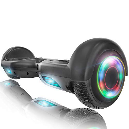 XPRIT Hoverboard w/Bluetooth Speaker (Black)