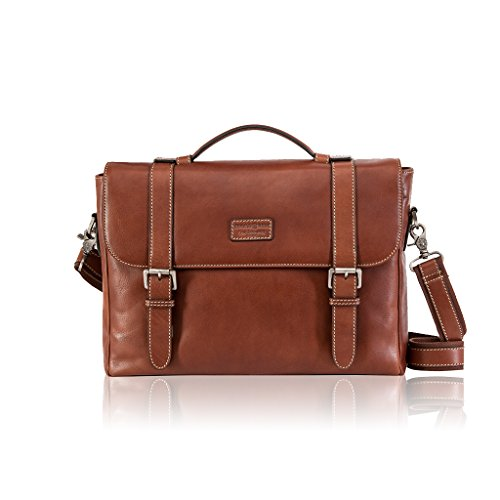 24 cm Jekyll and Hide Oxford Messenger Bag Tobacco 3680OXTO