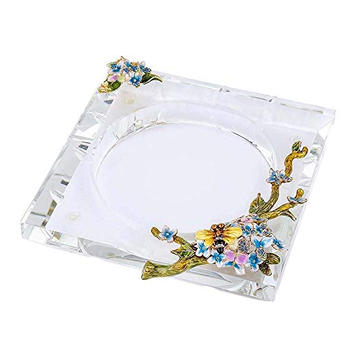 Hogar Ceniceros para Puros Navidad regalo de cumpleaños regalo cristalino creativo Europea...
