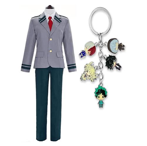 SOOYOOYOO My Hero Academia Mi Uniforme héroes Academia Tsuyu Escolar Cosplay Boku No Hero Academia Asui Tsuyu Cosplay Costume (S, Male)