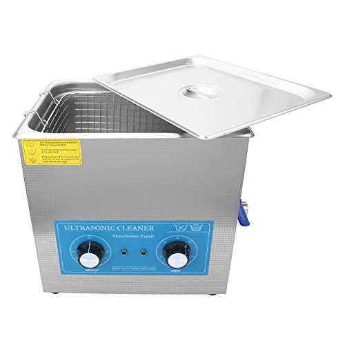 Limpiador ultrasónico ultrasónico, de 0 a 80 ° C de acero inoxidable Hecho 500 x 300 x 150 mm 22L para una mejor limpieza durante el proceso de limpieza?