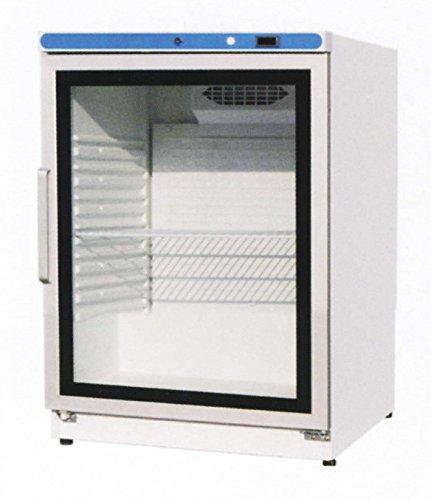 Kühlschrank mit Glastür, 600 x 615 x 870 mm, 130 L,