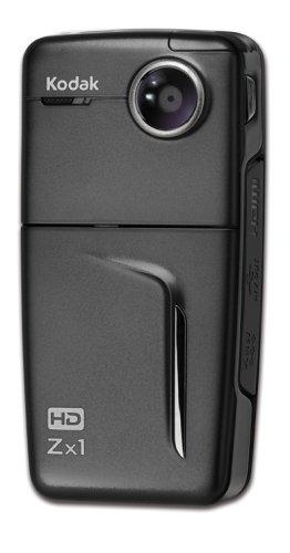 Kodak Zx1 1,6 MP CMOS Negro - Videocámara (1,6 MP, CMOS, 25,4/4,5 ...