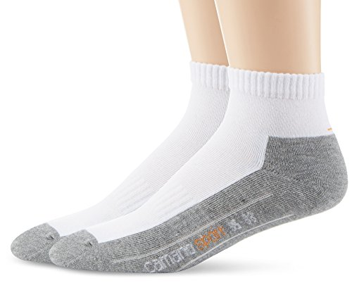 Camano 5932 - Chaussettes de sport - Homme - Blanc (White 1) - FR: 39-42 (Taille fabricant: 39-42)