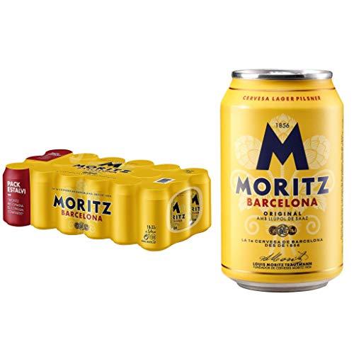 Moritz Barcelona (Brauerei) Bier 5.4% Alkohol. Dosen 330 ml. | VERKAUFT VON AMZ_store | bier dose, biere der welt, bier set, geschenke für männer, mahou bier (36 dosen, 0.33 l)