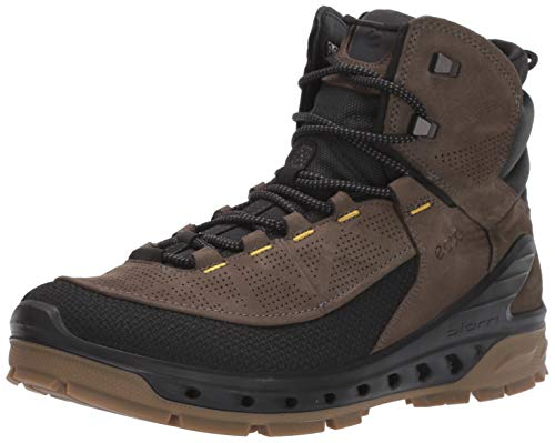 ECCO Biom Venture TR, Zapatos de High Rise Senderismo Hombre, Negro (Black/Tarmac 56665), 41 EU