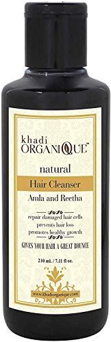 Glamorous Hub Khadi Organique Amla & Reetha Hai Cleanserr (champú) Paquete de 1 (el paquete puede variar)