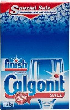 1x Calgonit/ Finish Spülmaschinensalz Maschinenreiniger,