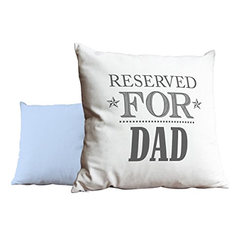 Duke Gifts Reserved for Dad Grey Blue Cushion Scatter Pillow 049