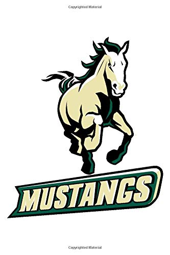 Cal Poly Mustangs Notebook: Minimalist Composition Book | 100 pages | 6