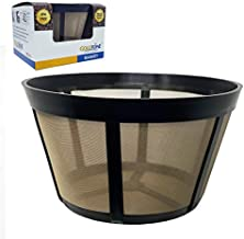 GOLDTONE Reusable Coffee Filter fits BUNN Coffee Maker and Brewer. Replaces your BUNN Coffee Filter 10 Cup Basket and BUNN Permanent Coffee Filter