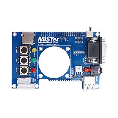 Yushu Para DE10-Nano Accessories Mister FPGA IO Board Set HUB USB Extender Analógico (3,5 mm Au Dio Jack con TOSLink)