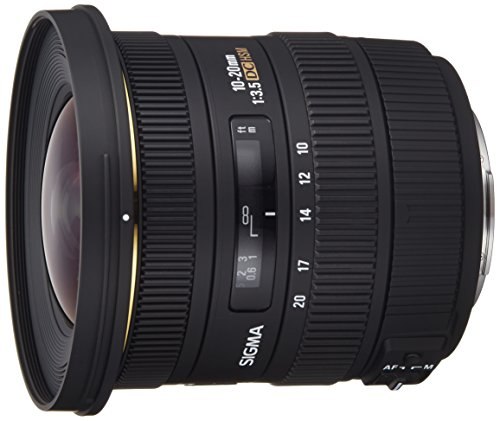 Sigma 10-20mm f/3. 5 ex dc hsm eld sld aspherical super wide angle lens for sony digital slr cameras