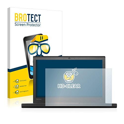 BROTECT Schutzfolie kompatibel mit Lenovo ThinkPad X260 (2 Stück) klare Bildschirmschutz-Folie