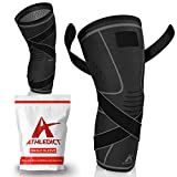 Best Knee Brace For Squats - Knee Brace Compression Sleeve with Strap for Best Review