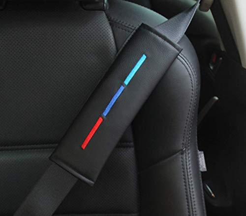 2 Stück Autositzgurtpolster für M Power Performance, Carbon, Auto-Sicherheitsgurt-Abdeckung, Schulterpolster für zusätzlichen Komfort auf der Straße, Auto-Styling-Zubehör