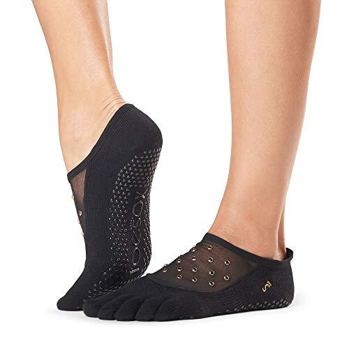 Toe Sox Damen Voller Zeh Bio-Baumwolle Luna Mesh Socken Packung mit 1 (Vow, Klein)
