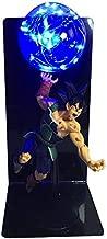 DragonBall Son Goku (Kakarotto) Figure Ka Me Ha Me Ha Creative Table Lamp Led Table Lamp Toy (Color : Blue)