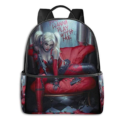 41cyrWsr+gL Harley Quinn Backpacks for School