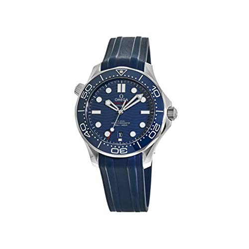 Omega Seamaster Diver 300M 42 MM quadrante blu automatico orologio 210.32.42.20.03.001
