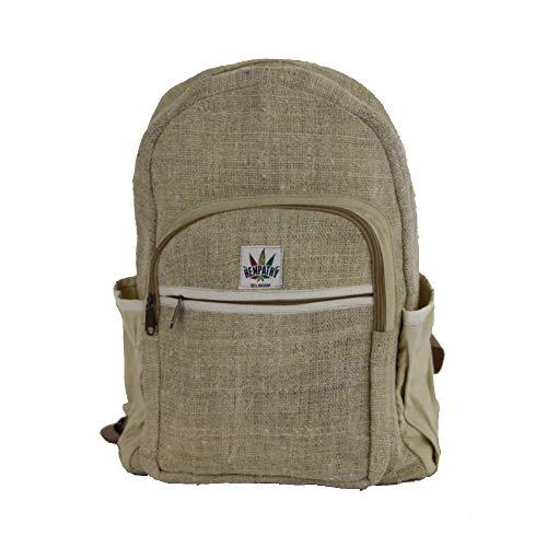 Smokey Color Hanf-Rucksack, umweltfreundlich, biologisch, Hippie-Stil