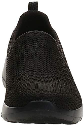 Skechers Go Walk Joy, Zapatillas Mujer, Negro (BBK Black Textile/Trim), 40 EU