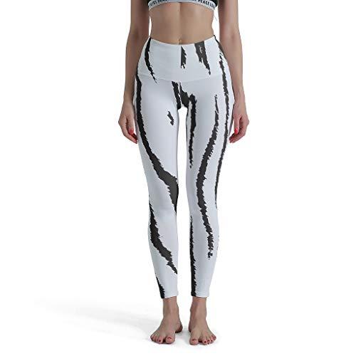 WJunglezhuang Afslanken Naadloze Yoga Hosen Mädchen Luipaard print, dierlijke huid Jogginghose für Athletische