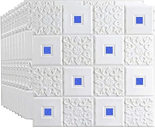 NICETOW Adesivos de Parede Papel de Parede de tijolo 3D autoadesivo Parede DIY durável à Prova d