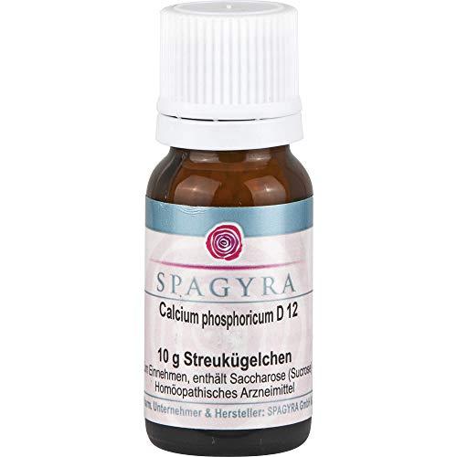 SPAGYRA Calcium phosphoricum D 12 Globuli, 10 g Globuli