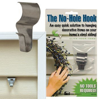 CWI Gifts Low Profile No Hole Hook, 1.5-Inch, 2-Pack by CWI Gifts (English Manual)