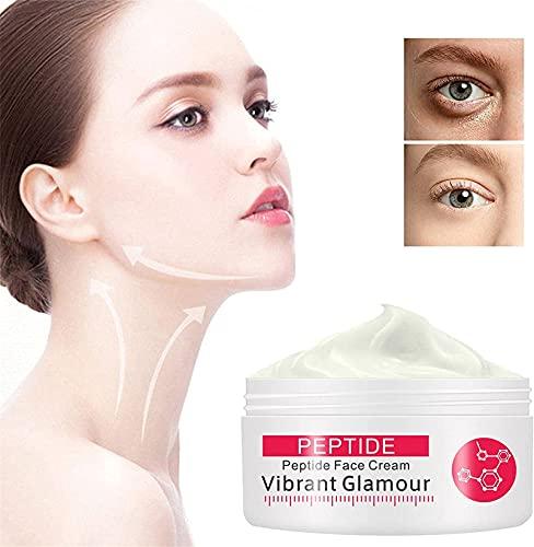 Vibrant Glamour Rewind Cream, Collagen Pure Face Cream Crema Reafirmante, Hidratante Antienvejecimiento Para Rostro Y Cuerpo Reduce Las Líneas Secas Y Las Líneas Finas (PC 1)