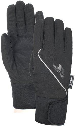 Trespass Whiprey, Black, M, Wasserdichte Handschuhe für Damen, Medium, Schwarz
