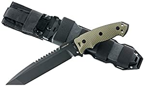 Hogue Inc Hunting Knife Fixed Blade Ex F01 7 0 in Tanto G10 Scales