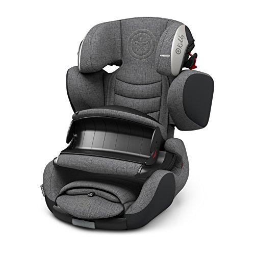 kiddy Siège-auto Guardianfix3 siège-auto siège-auto enfant, Grey Melange Icy Grey