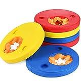 Manguitos de natación para niños, Natación Brazaletes, 6 Piezas Swim Discs, Colores Brillantes, fáciles de identificar, para niños 3-6 años Aprender a Nadar Actividades de Playa Piscina