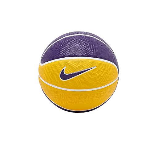 Nike Lebron Playground - Balón de 4P Unisex, Color Morado y Amarillo, 7