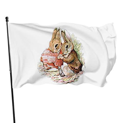 N/D Benjamin Bannerflagge Bunny & Peter Rabbit Plan their Raid