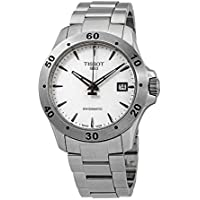 Tissot T-Sport Tissot V8 Automatic Silver Dial Mens Watch (T1064071103101)