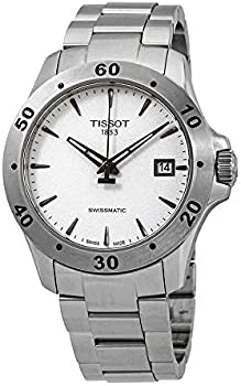 Tissot T-Sport Tissot V8 Automatic Silver Dial Mens Watch