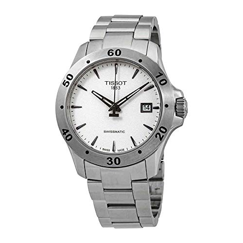 Tissot V8 Automatic Silver Dial Mens Watch T1064071103101