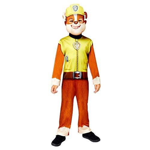 Amscan 9909124 Rubble Good Halloseen Disfraz de 4 a 6 aos, amarillo, aos