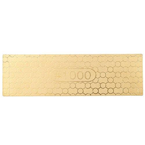 Anself 400/1000 Doppelseite Schleifstein Wetzstein aus Diamant 100 * 30 * 1.2mm