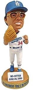 Bobbleheads Fernando Valenzuela Dodgers Baseball SGA - 08/21/12